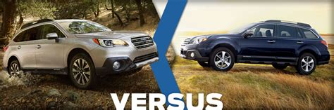 subaru outback   outback wagon comparison