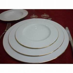 Service De Table Porcelaine : service de table en porcelaine de limoges centre vaisselle porcelaine blanche et d cor e ~ Teatrodelosmanantiales.com Idées de Décoration