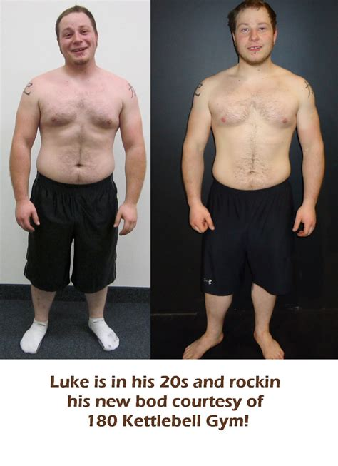 before after kettlebell