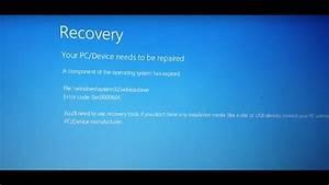 How To Fix Windows Error 0xc0000605  Recovery