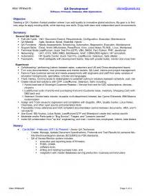 qa analyst resume canada how to write a cover letter for a resume administrative assistant resume cover letter sle