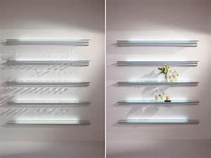 Regal Mit Beleuchtung : regal mit integrierter beleuchtung hialina by bd barcelona ~ Michelbontemps.com Haus und Dekorationen