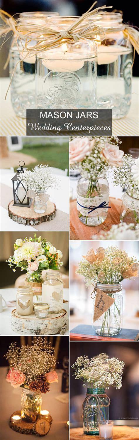 Rustic Wedding Ideas 30 Ways To Use Mason Jars