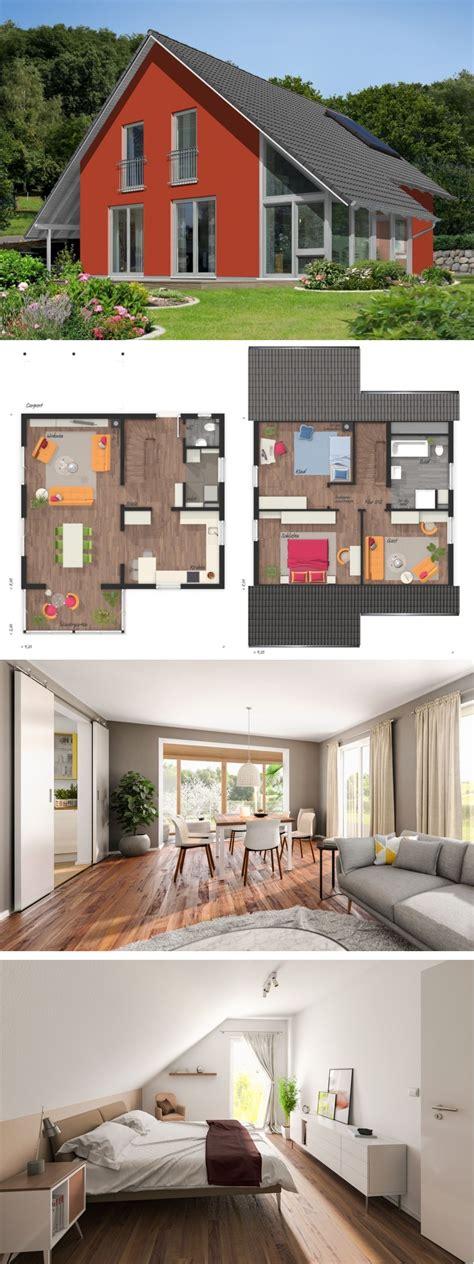 Modernes Eigenheim Mit Satteldach Architektur
