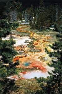 Artist Paint Pot Yellowstone National Park Wyoming