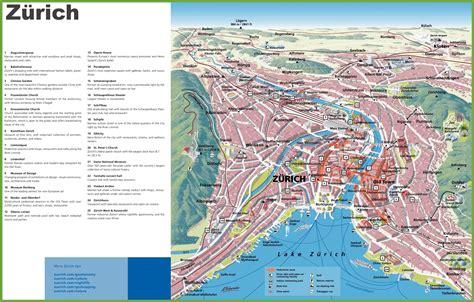 zurich map  zones