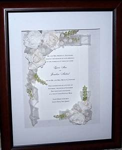 wedding invitation keepsake shadow box by craftsbycris on etsy With wedding invitation in shadow box