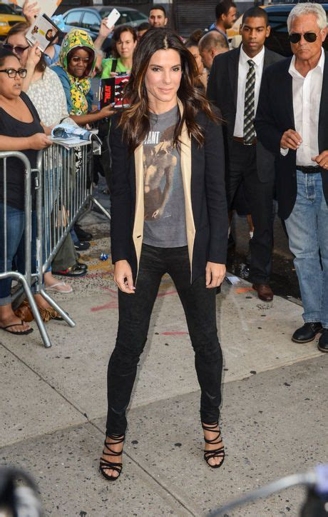 Sandra Bullock Has A Chic New Way To Wear Her Comfy