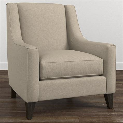 fabric sofa with wood trim modern accent chair with sloped arms