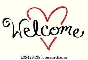 Welcome Clip Art | Our Top 1000+ Welcome Vectors | Fotosearch