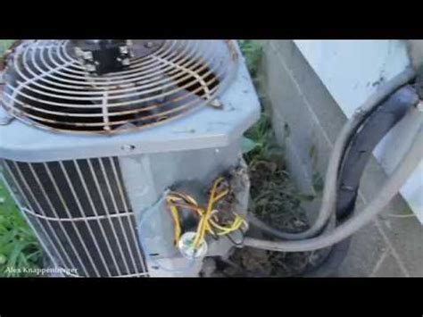 How Replace Pole Contactor Condenser Unit Youtube