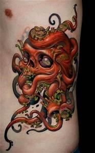 Octopus skull | Tattoo i like | Pinterest