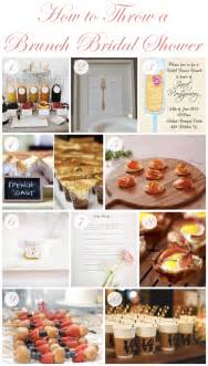 bridesmaid brunch how to throw a brunch bridal shower