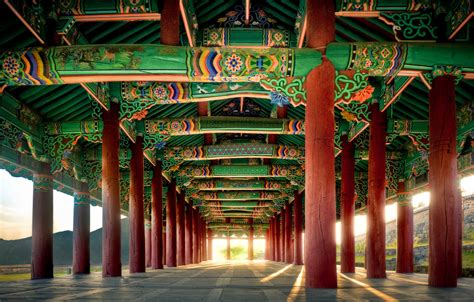 Korean Architectural Art By Wulfman65 On Deviantart