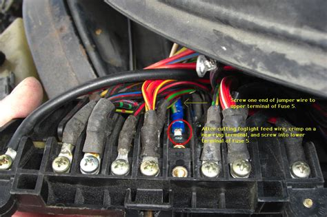 Fog Light Wiring Modification Euro
