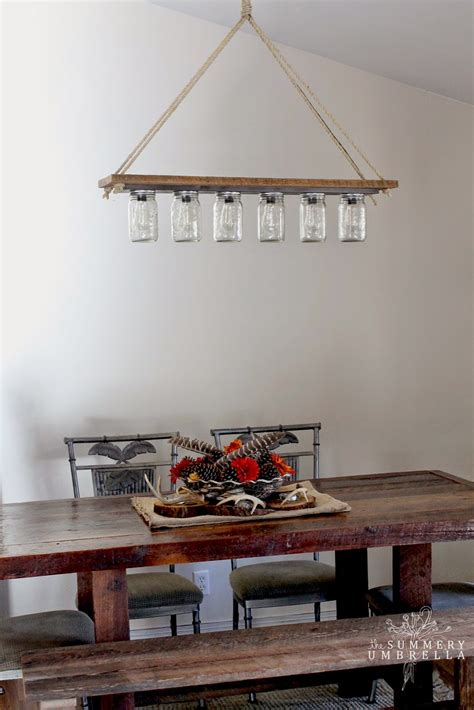 diy rustic pendant light remodelaholic upcycle a vanity light strip to a hanging