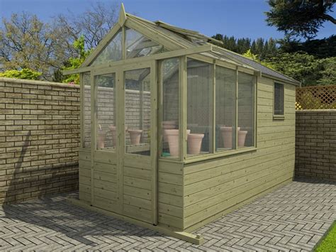 our new greenhouse shed combo range gardening structures