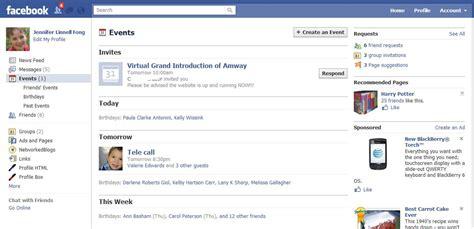 Facebook Home : Of Facebook Events