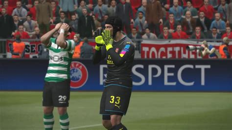 Arsenal Vs Sporting Cp! Pro Evolution Soccer 2017 (pes