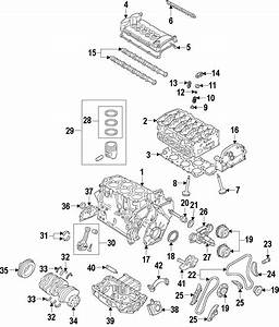 Volkswagen R32 Engine Timing Chain Guide
