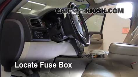Interior Fuse Box Location Gmc Yukon