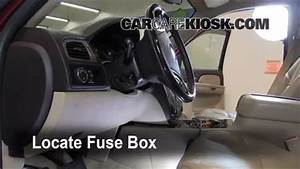 Interior Fuse Box Location  2007-2013 Gmc Yukon