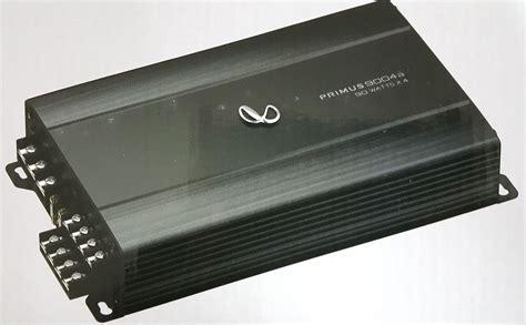 Infinity Primus Rmsx Amplifier Driving Sound