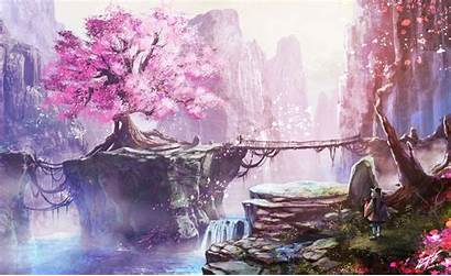 Cherry Wallpapers Anime Blossoms Wallpapercave Ps4 Blossom