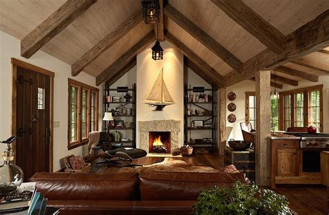 Living Room With Fireplace Design 30 rustic living room ideas for a cozy organic home