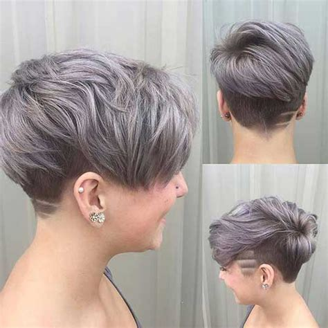 Grau Lila Haare 20 Pixie Haircuts You Should See
