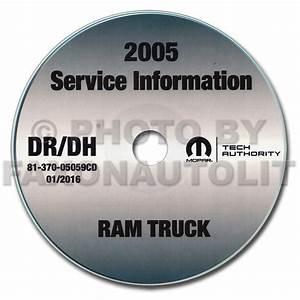 2005 Dodge Ram Truck Repair Shop Manual 10 Vol  Set