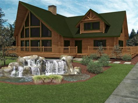 Luxury Log Cabins Small Luxury Log Home Plans, Luxury