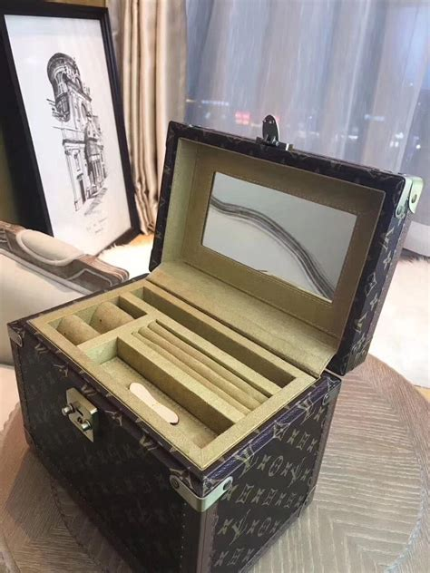 louis vuitton monogram canvas trunk case aaa handbag
