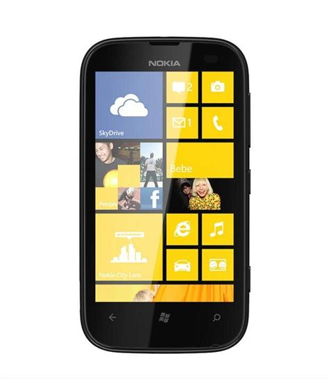 nokia lumia 510 yellow mobile phones at low prices snapdeal india