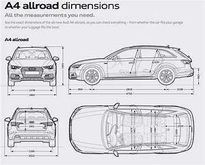 Dimension Audi A4 Avant : allroad cargo dimensions audiworld forums ~ Medecine-chirurgie-esthetiques.com Avis de Voitures