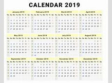 Calendar 2019 Monthly Task Management Template Worksheet