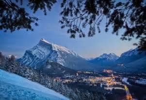 Banff Lake Louise Winter