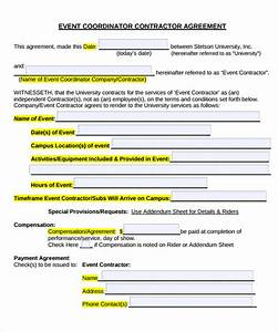 event contract template 18 download documents in pdf With event management agreement template