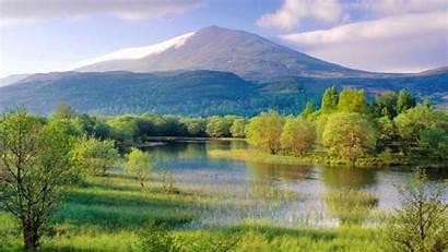 Landscape Panorama Scenic Nature Scenery Summer Scene