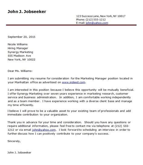 Standard Resume Template Word by Standard Letter Template Word Sle Resume Cover Letter
