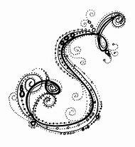 fancy letter s designs