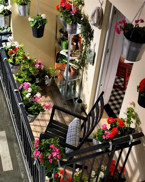 comment avoir un balcon fleuri id 233 es en 50 photos