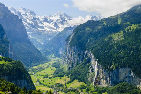 Visit The Valley Of 72 Waterfalls In Switzerland