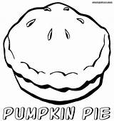 Pie Pumpkin Coloring Pages Drawing Printable Print Getdrawings sketch template