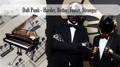 Partitura Daft Punk - Harder, Better, Faster, Stronger ...