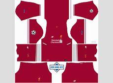 Liverpool 2018 Kits DLSFTS