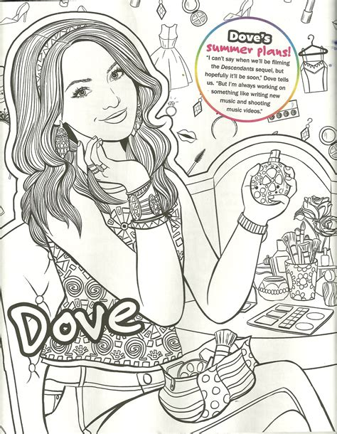 liv and maddie coloring pages dove cameron liv maddie mal coloring page my