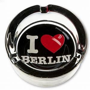 Berlin Souvenirs Online : ashtray i love berlin black gifts berlin souvenirs online ~ Markanthonyermac.com Haus und Dekorationen