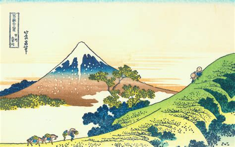 hokusai wallpaper  wallpapersafari