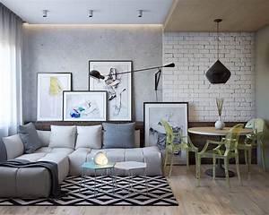 Sofa 2 60 M : sof cinza 60 fotos de decora o da pe a em salas ~ Bigdaddyawards.com Haus und Dekorationen